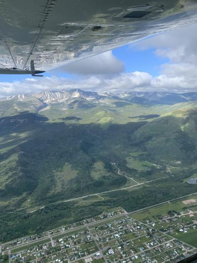 Butte flight