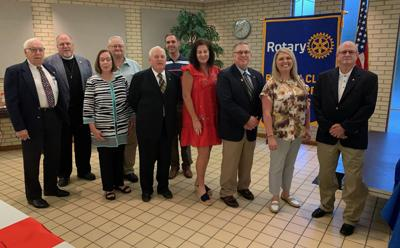 Kilgore Rotary Club inducts 2021-22 officers