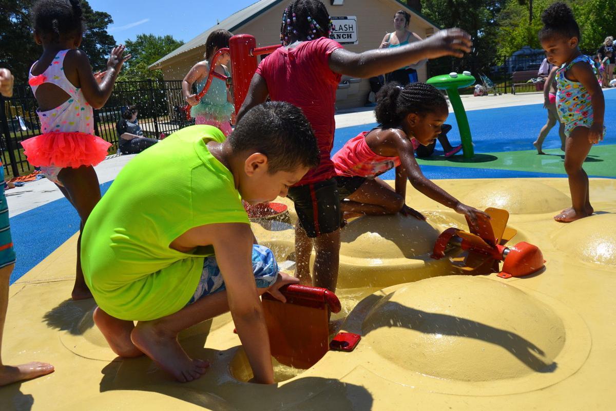'LAZY' SATURDAY' City celebrates official opening of splash pad