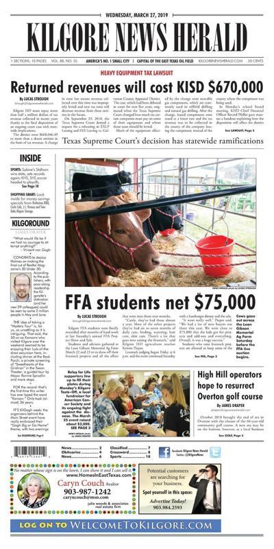 Kilgore News Herald 03-27-19