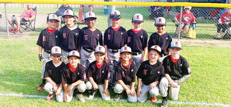 T-ball Red joins 14-U's on the road to state