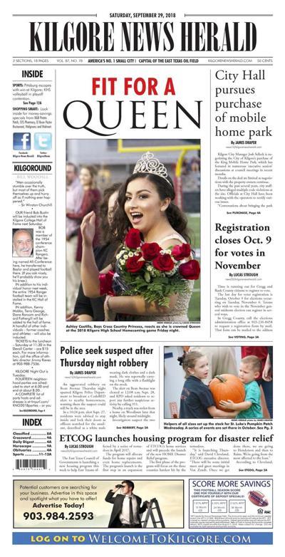 Kilgore News Herald 9-29-18