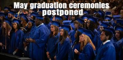 Graduation Postponed