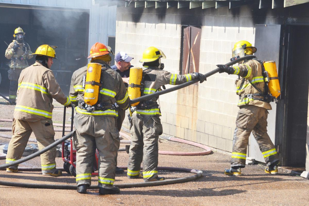 KC Fire Academy Training