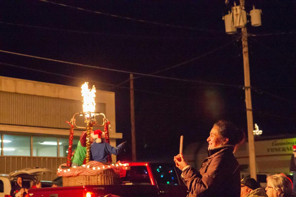 Christmas Season Steams Into Town
