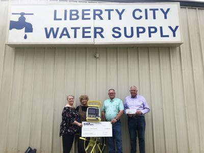 Sabine River Authority grants $10,000 to Liberty City WSC