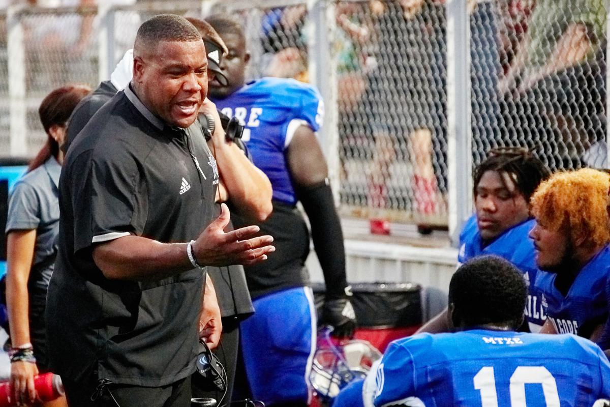 Coach Gooden motivates the guys