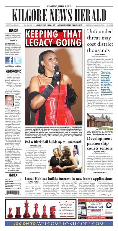 Kilgore News Herald 3-8-17