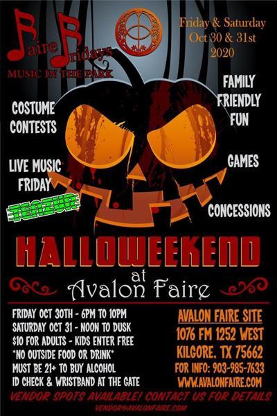 Avalon Faire Halloween