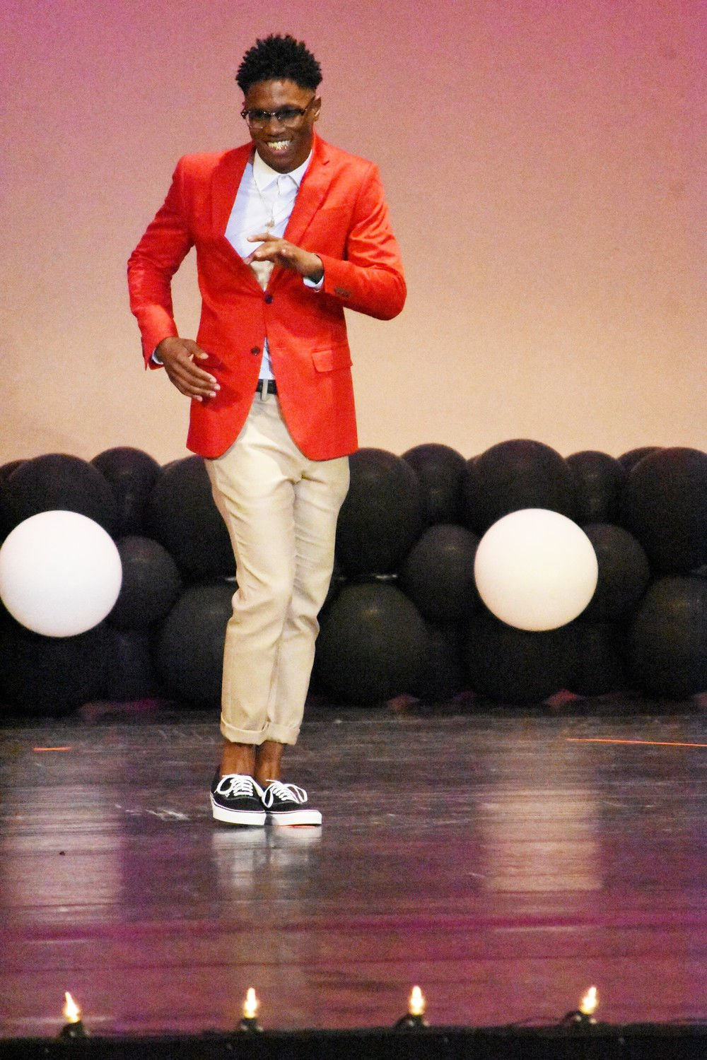Students model top fashions in annual style show at Dodson