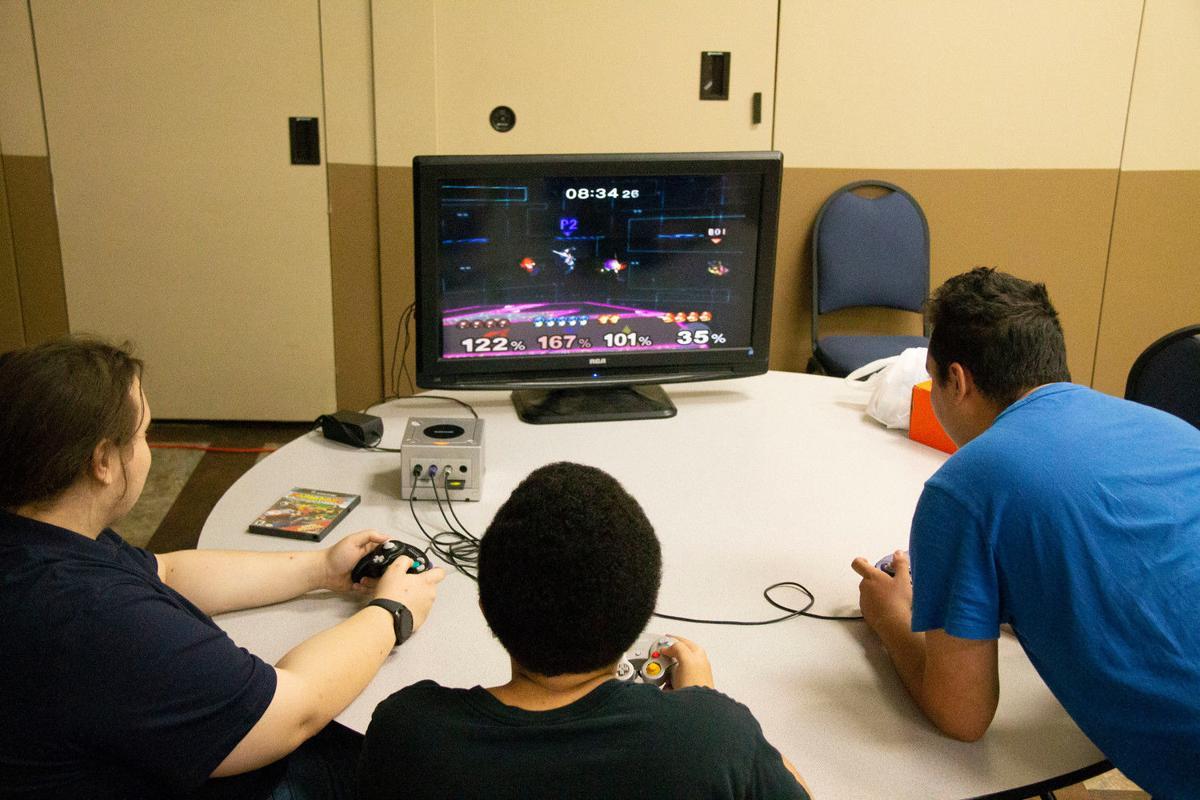 Gamers test their skills