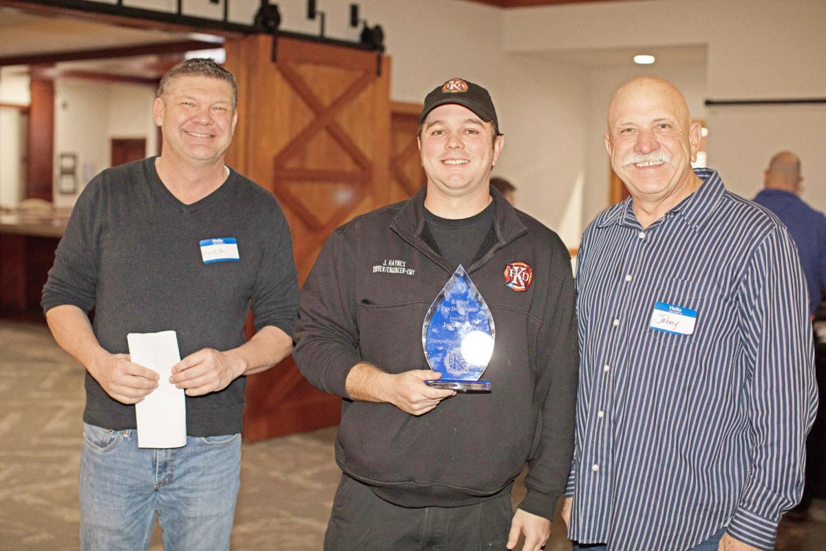 Local fire departments honor top personnel