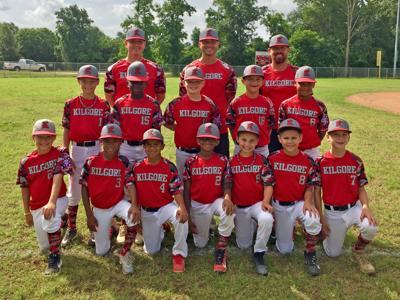 Kilgore Boys Baseball Association's 10-and-under all-star team