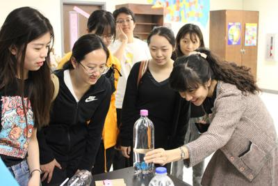 Chinese thespians get hands-on introduction to TSF, East Texas