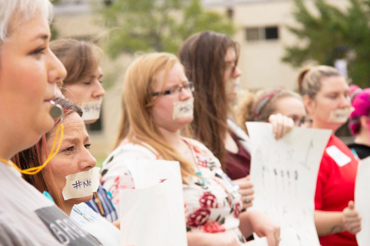 KC students, sexual assault survivors speak out amid nationwide dialogue