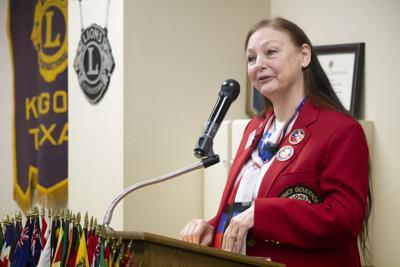 Lions governor-elect visits Kilgore