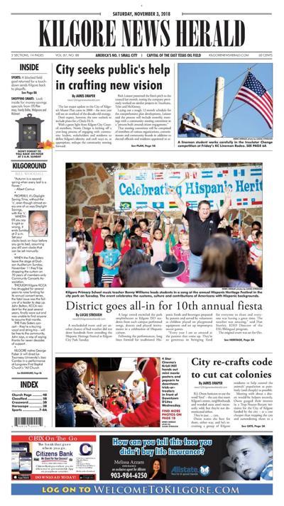 Kilgore News Herald 11-3-18