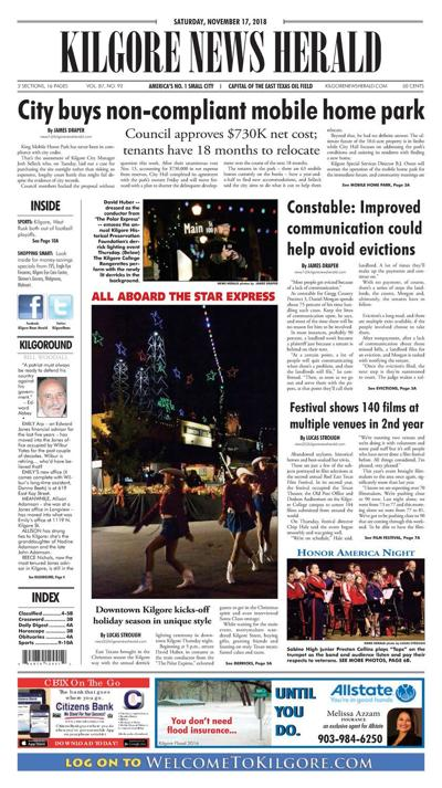 Kilgore News Herald 11-17-18