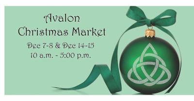 Avalon Faire Christmas Market 2019 Graphic