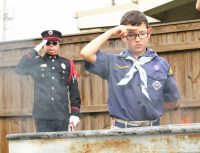 Scouts give flags final honors (copy)