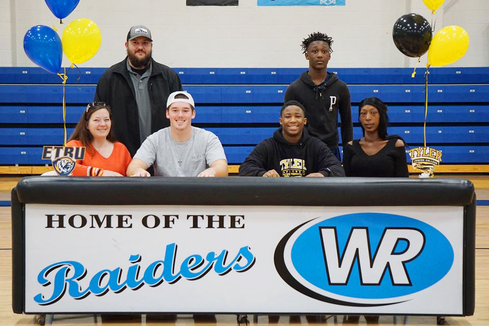 West Rusk signings