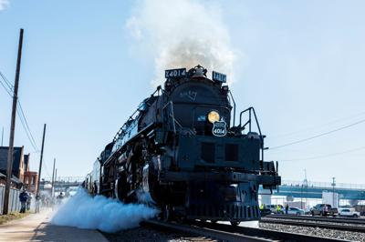 'Big Boy' locomotive reaches area Nov. 10