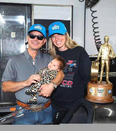 Steve Torrence and family