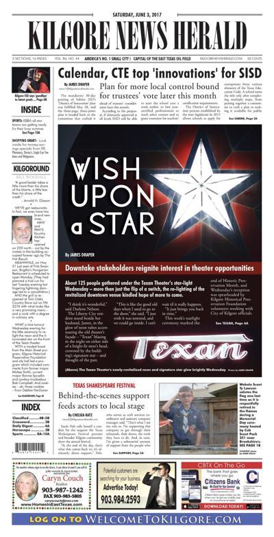 Kilgore News Herald 06-03-17