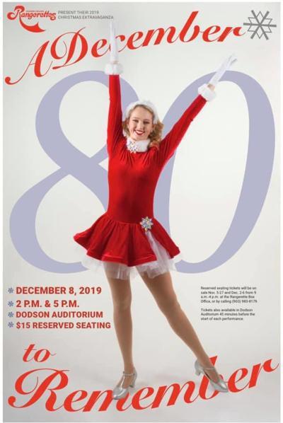 Rangerette Christmas Show Poster 2019