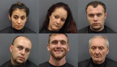 Organized crime arrests
