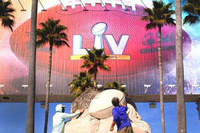 Super Bowl-Sand