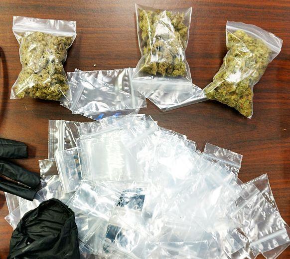 Marijuana seized after traffic accident