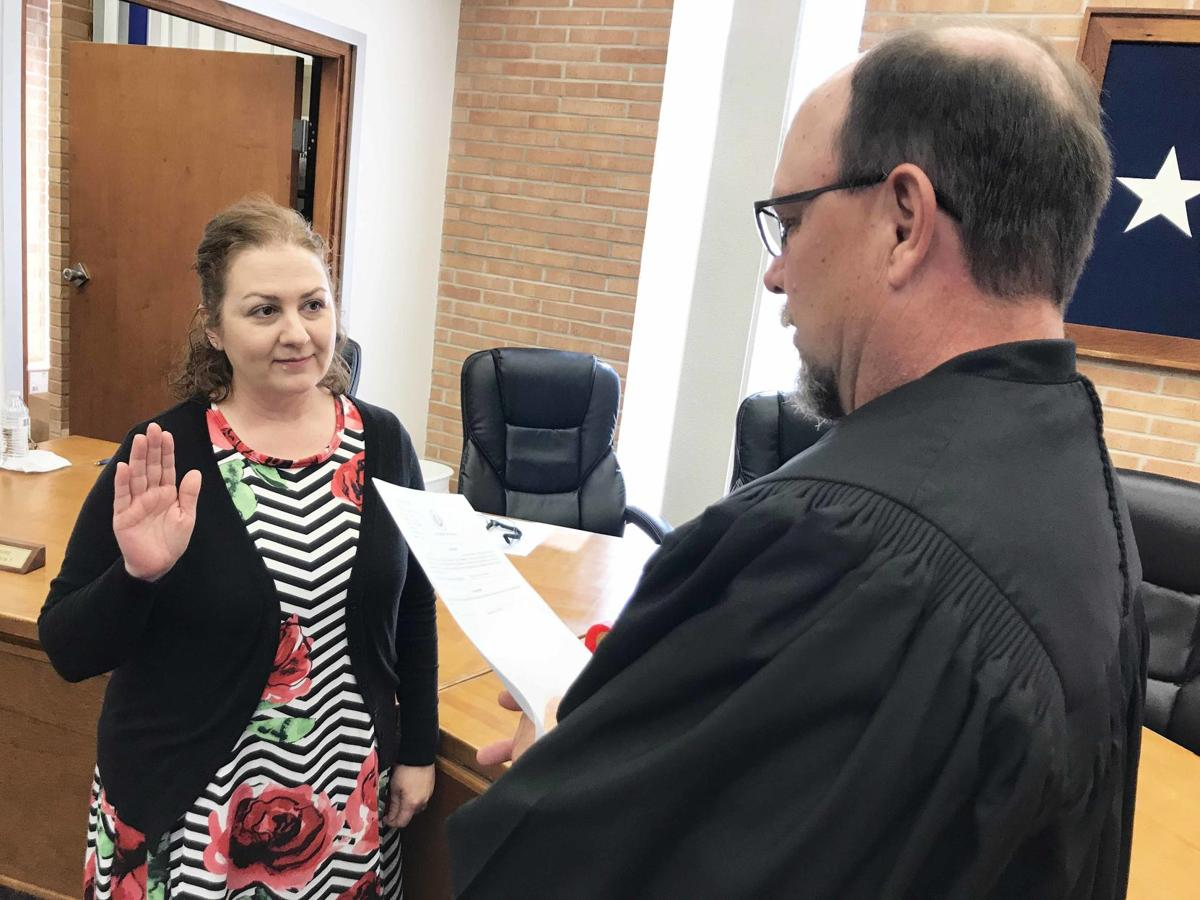 Kabrina Lawrence sworn in