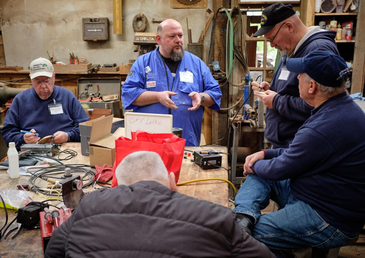2019 Nave Sawmill woodturning clinic