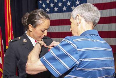 Marine 1st Lt. Catherine Stark
