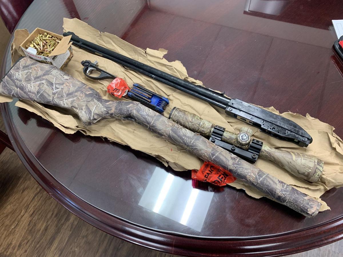 Gun seized in traffic stop