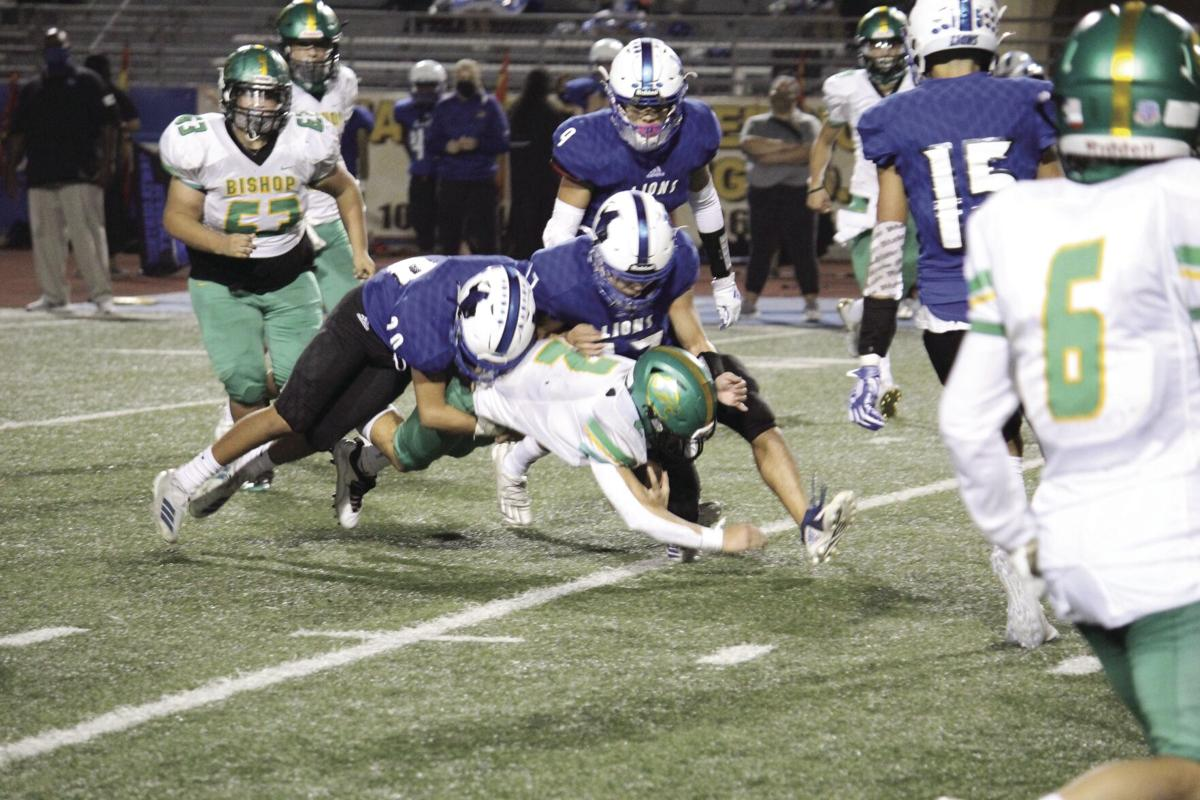 Badgers blank Lions for playoff spot