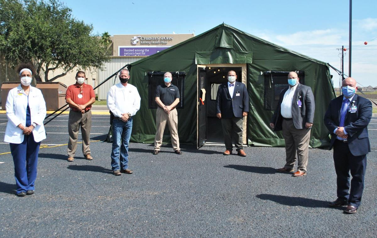 Leaders see medical field unit first hand