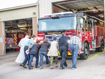 Fire department holds 'Backing In' ceremony