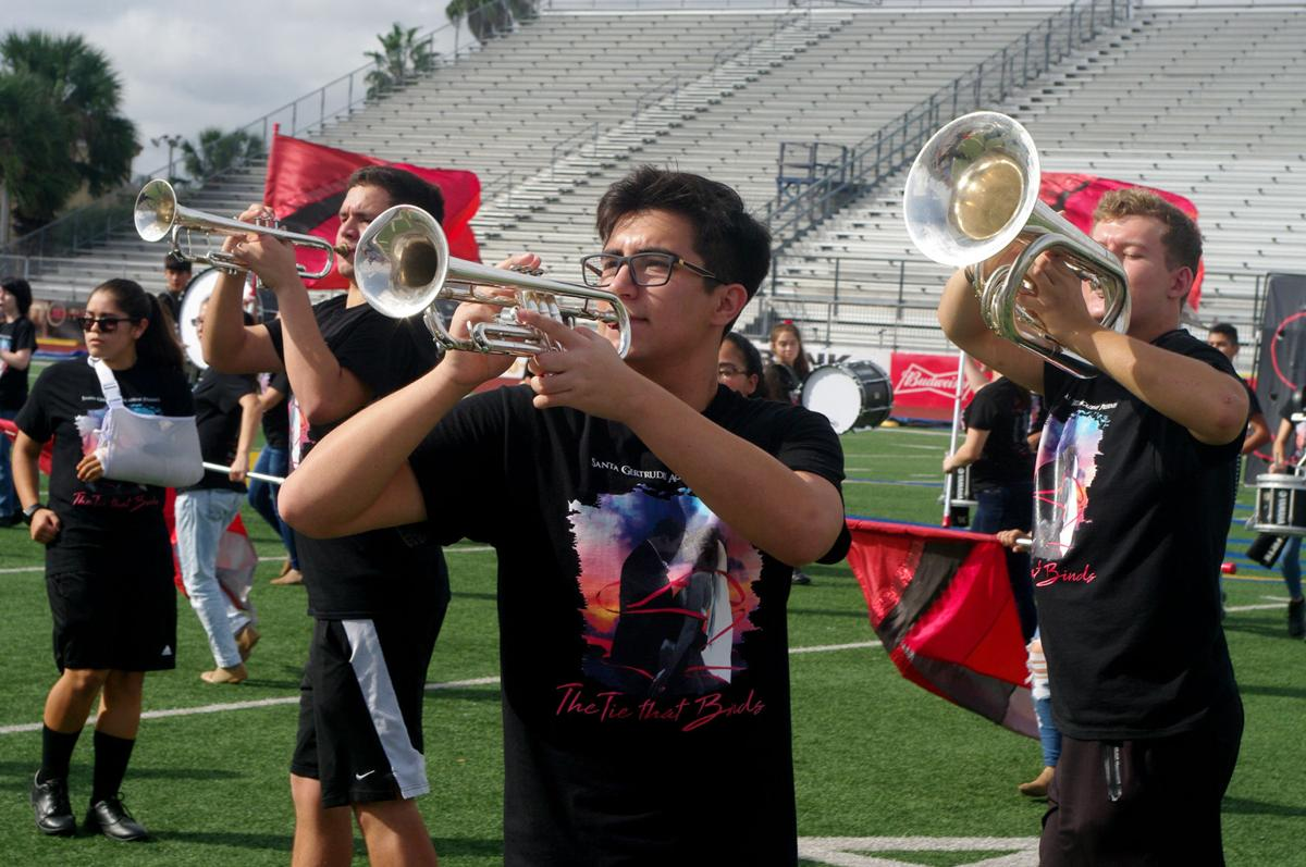 SGA band competes at state