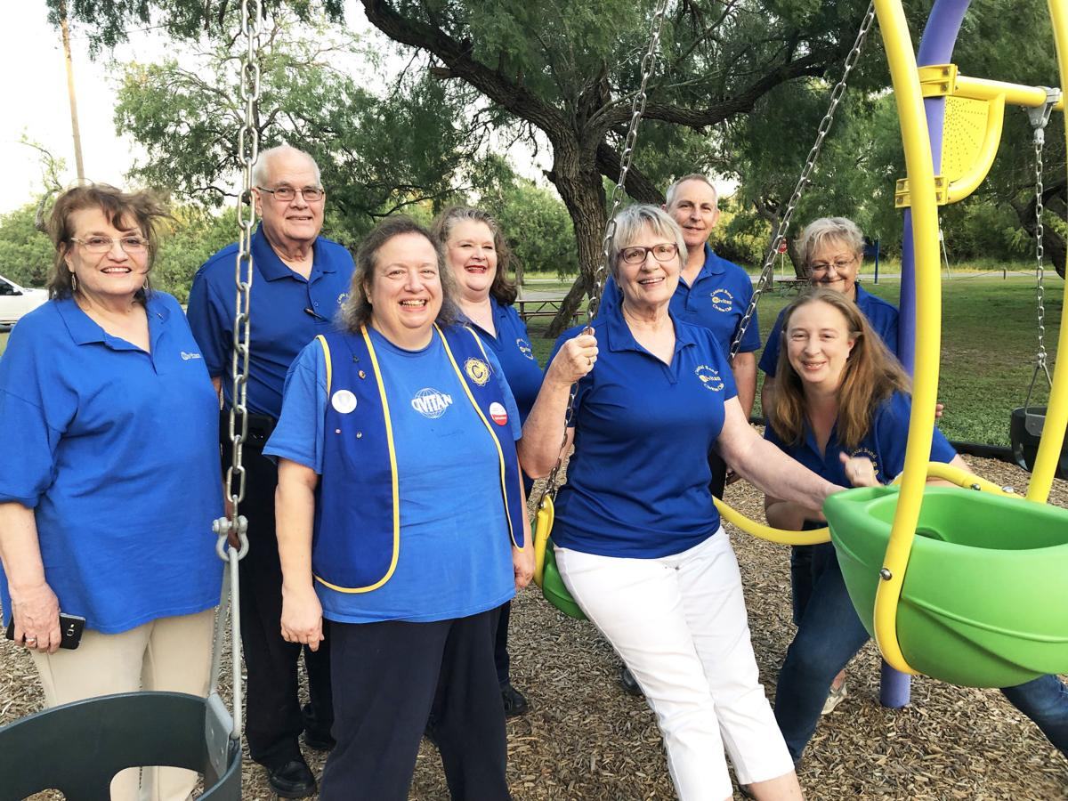 Civitan Club donates swings