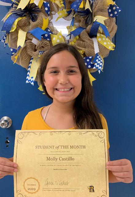 5th Grade - Molly Castillo
