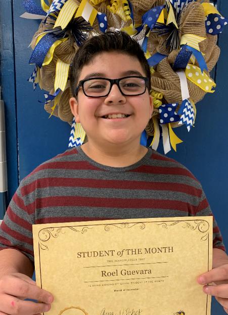 6th Grade - Roel Guevara