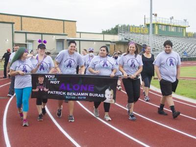 Walk for suicide prevention