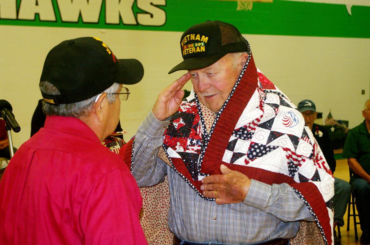 Riviera ISD celebrates veterans