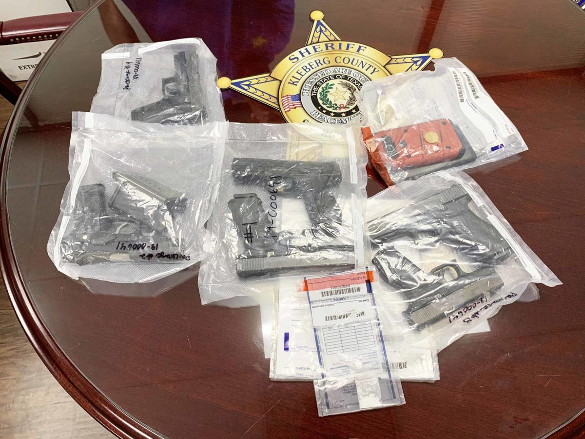 Guns and cocaine found in car on Hwy 77
