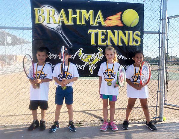 HMK hosts tennis camp