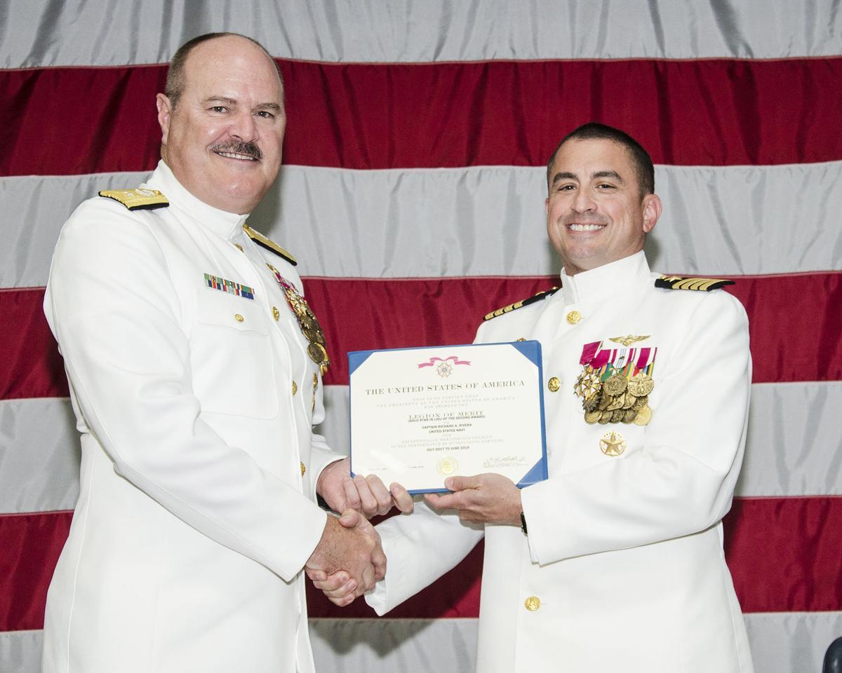 Rivera receives Legion of Merit