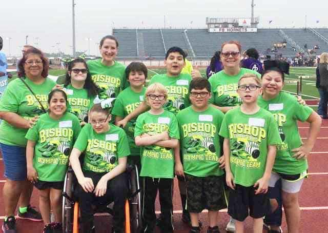 Special Olympics held in Flour Bluff