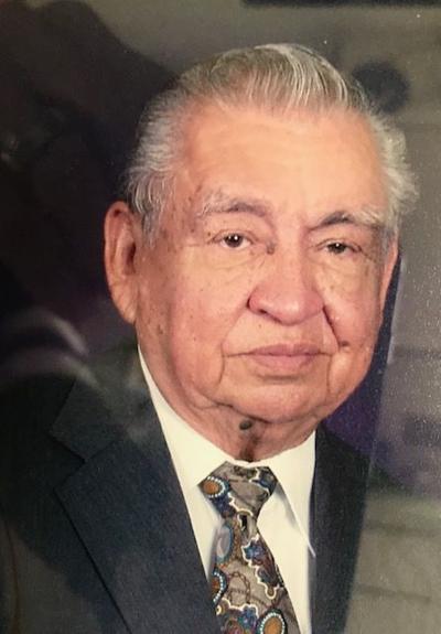 """Francisco R. """"Coach Frank"""" Garza"""